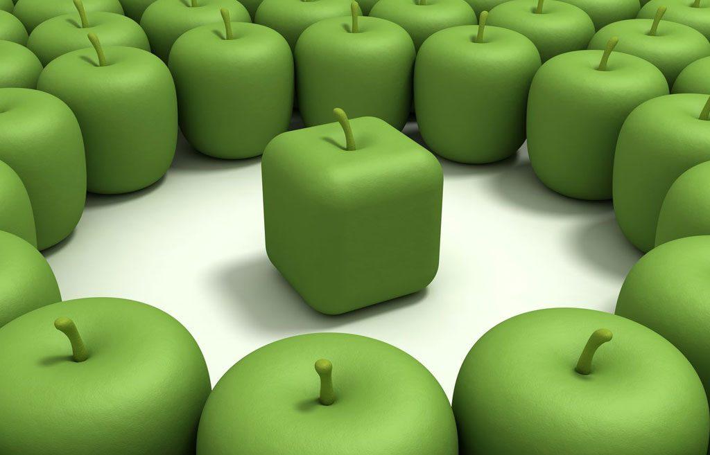 Erottuvuus, johdonmukaisuus, jatkuvuus